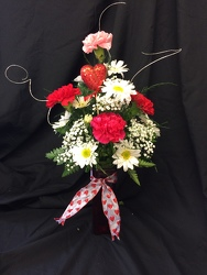 CUPIDS CHOICE BOUQUET from Philips' Flower & Gift Shop