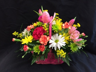 Easter Basket Bouquet from Philips' Flower & Gift Shop