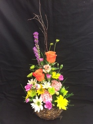 Springtime Birdnest Bouquet from Philips' Flower & Gift Shop