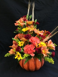 PUMPKIN PATCH BOUQUET from Philips' Flower & Gift Shop