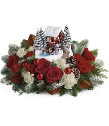 Thomas Kinkade's Snowfall Dreams Bouquet from Philips' Flower & Gift Shop