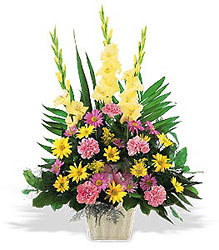 Warm Thoughts Funeral Bouquet from Philips' Flower & Gift Shop