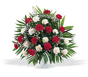 Hope and Honor Funeral Bouquet from Philips' Flower & Gift Shop